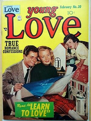 YOUNG LOVE  30 classic USA golden Age Romance  comic -A Simon & Kirby production