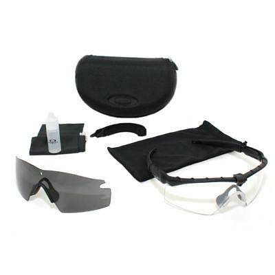 595763fe6a Oakley SI M Frame 2.0 Ballistic Shooting Sunglasses MCPES Class1 Gray+Clear  lens