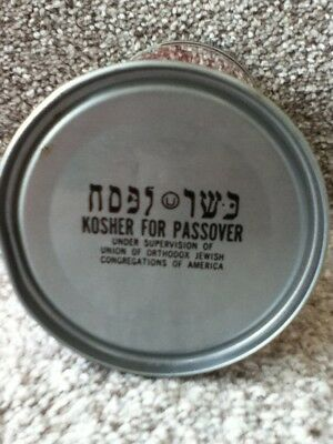 Dr.Brown's straight steel, pull top.Printed on bottom: Kosher For Passover