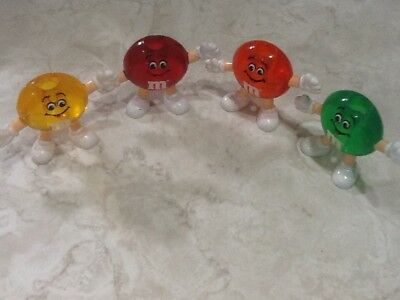 M&m's Cake Toppers Red Orange Yellow And Green