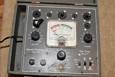 Accurate Instrument Co.  Model 151 Tube Tester