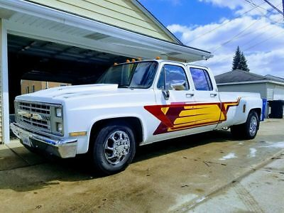 1988 Chevrolet Other Pickups 3+3 camper special 1988 chevy r30 3+3 camper special crew cab dually