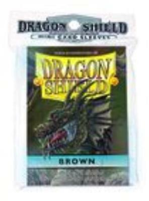 Fantasy Flight Card Protection Mini Sleeves - Brown (10 Packs of 50) SW