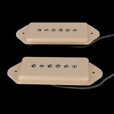 Lindy Fralin Custom P90 Dogear Hum Cancelling Pickup Set Casino etc. P 90 CREAM
