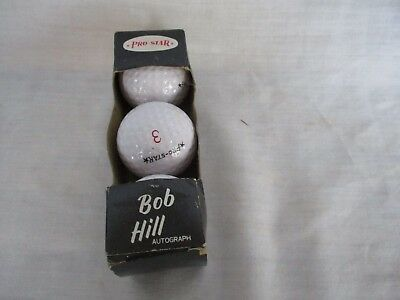 VINTAGE early 60's NEW OLD STOCK Original box of 3  SIGNATURE LOGO GOLF BALLS