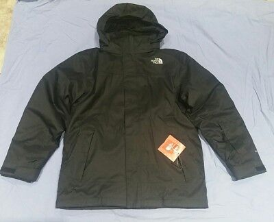 New The North Face Abbit 4-in-1 Triclimate Winter Ski Jacket Big Boys L 14/16