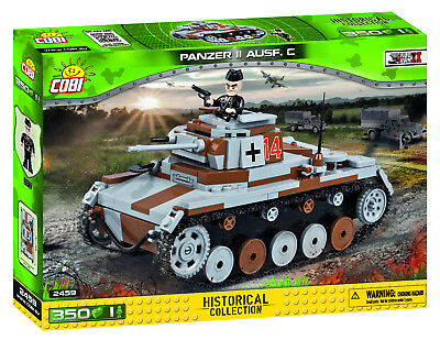 COBI Small Army WWII 'German Panzer II Ausf. C' 350 Pieces Item #2459