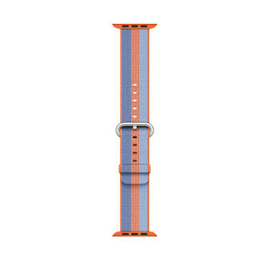 Genuine Apple Watch Woven Nylon Band (38mm, Orange Stripe) - MPVV2AM/A - VG