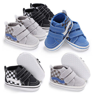 size 40 728e1 d6dce Infant Baby Boys Sneakers Mix Colors High Top First Walker Soft Sole Crib  Shoe