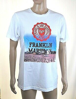 T-Shirt Maglietta Uomo FRANKLIN /& MARSHALL Made in Italy H453 Tg M L XXL veste+