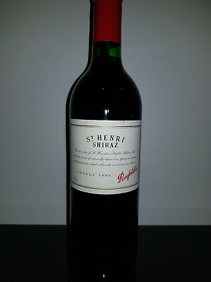 Penfolds St Henri Shiraz Vintage 1998 - Excellent Condition