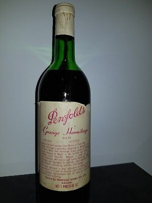 Penfolds Grange Hermitage 1968 Vintage - Great Condition For A 50 Year Old Wine!