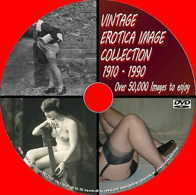 50000 Images Rare Vintage Erotic Art Corsets Heels Retro Fashion Collection Dvd