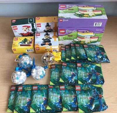 NEW Job Lot of Lego Products. Wholesale Bulk Clearance of Lego 26 New items