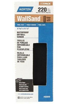Norton 50652-038 WallSand Drywall Sanding Screen, 220 Grit