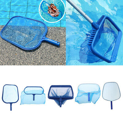 Leaf Net Swimming Pool Rake Spa Skimmer Koi Pond Pools Fish Cleaning 5 Types