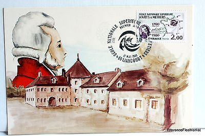 Yt 2087 SCHOOL ARTS AND PROFESSIONS FRANCE CARD MAXIMUM 1° DAY FCP