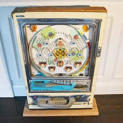 Vintage Sankyo Pachinko Tulip Japanese Pinball Machine Arcade Game