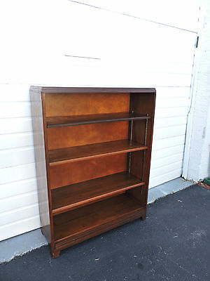 Bookcase Bookshelf Display Cabinet by Nucraft of Grand Rapids 6977