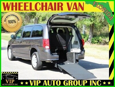 Dodge Grand Caravan Kneelvan 2016 Handicap Wheelchair Van Kneelvan Mobility Manual Rear Entry Ramp