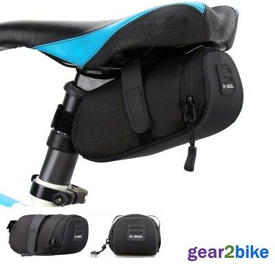 Cycling Saddle Bag Bike Waterproof Seat Pouch Storage NEW From UK Stock