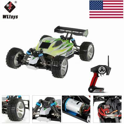 2018 WLtoys A959-B 2.4G 1/18 4WD 70KM/h Electric RTR Off-road Buggy Truck RC Car