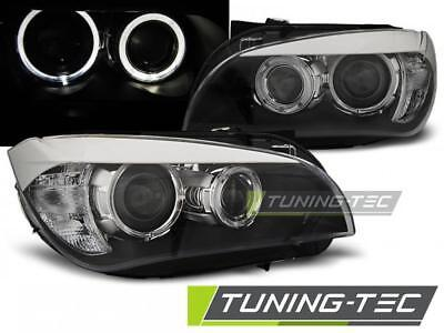 Coppia Fari Anteriori Bmw X1 E84 10.09-07.12 Ae Led Black*732