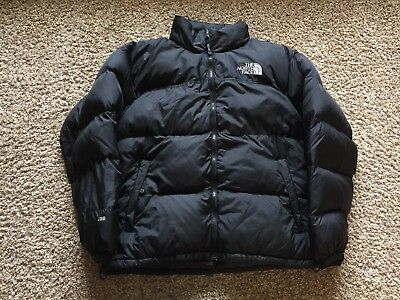 fa841ec6a VTG 90S THE North Face Nuptse Puffer 700 Fill Down Jacket Bubble Black XL  Hooded