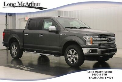 """Ford F-150 LARIAT 4X4 2.7 V6 SUPER CREW CAB SHORT BED 4WD NAV MSRP $55870 LARIAT CHROME APPEARANCE PACKAGE 18"""" CHROME LIKE PVD WHEELS BLIS"""