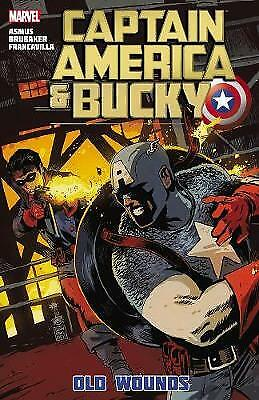 Captain America and Bucky: Old Wounds, James  Asmus, Ed  Brubaker, Very Good