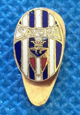 Distintivo Calcio Savona Football Italia Pin Spilla Badge