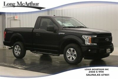 """Ford F-150 XL 5.0 V8 SHORT BED PICKUP TRUCK MSRP $36644 XL SPORT APPEARANCE PACKAGE 17"""" SILVER PAINTED WHEELS PRO TRAILER BACKUP ASSIST"""