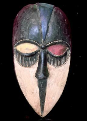 Outstanding Tribal Kwele  Mask  --- Gabon