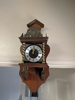 syn sin, Weight Driven Wall Clock missing parts and no weights untested spares