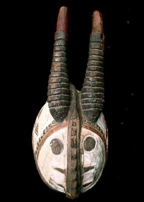Old   Tribal Gurunsi Antelope  Mask  ---  Burkina Faso
