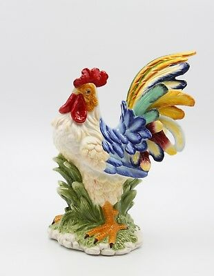31981- Appletree Ceramic Rooster Figurine