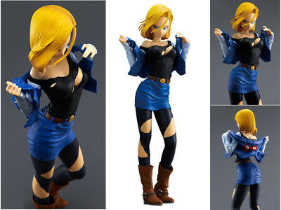 Dragon Ball Z Android 18 Glitter & Glamours Figur Figuren 25cm No Box