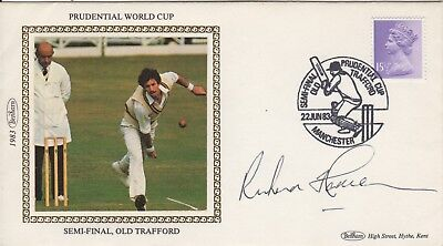Sir Richard Hadlee World Cricket Icon Signed 1983 First Day Cover Psa