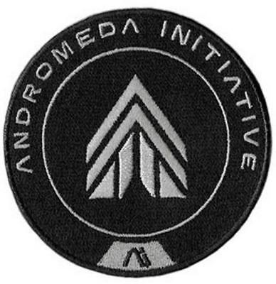 Mass Effect Andromeda Patch Initiative Apex Force - Dark Horse Free Shipping!
