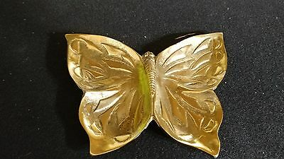 Solid Brass Butterfly Tray