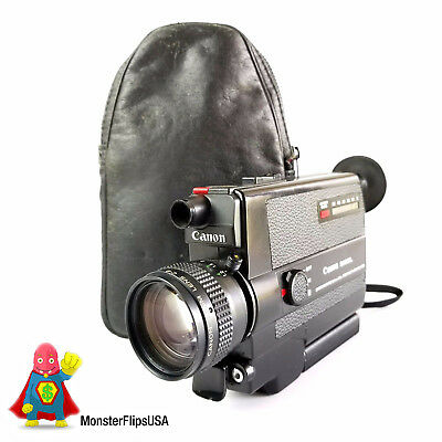 CANON 310XL Super 8 Camera - With Canon Leather Bag USA SELLER!