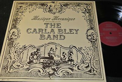 THE CARLA BLEY BAND Musique Mecanique / German LP 1979 WATT/9