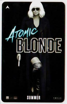 CAESARS PALACE casino**ATOMIC BLONDE**Las Vegas hotel key card*Free Shipping!
