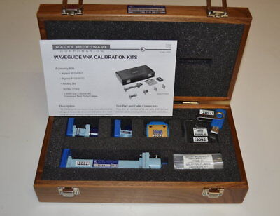 Maury Microwave N7006A-17 WR51 Waveguide Calibration Kit Complete and GOOD