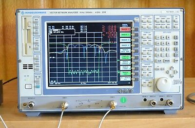 Rohde Schwarz ZVR Vector Network Analyzer 300khz-4GHz, Loaded with Options GOOD