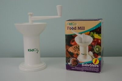 KidCo Manual Baby Food Mill Grinder BabySteps 1 Model F700