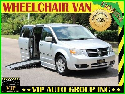 2008 Dodge Grand Caravan SXT Handicap Braun Entervan Wheelchair Van 2008 Dodge Handicap Wheelchair Van Mobility Braun Entervan Power Side Ramp