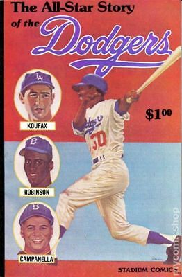 All Star Story of the Dodgers #1 1979 FN Stock Image
