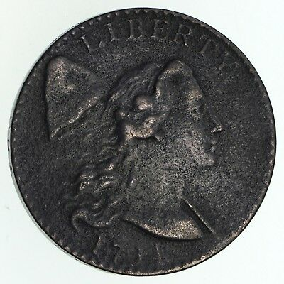 1794 Liberty Cap Large Cent - Circulated *4693