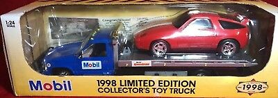 Limited Edition Mobil Collectors 1998 SpeedPass Flatbed 1:24 NEW IN BOX 2 For 1